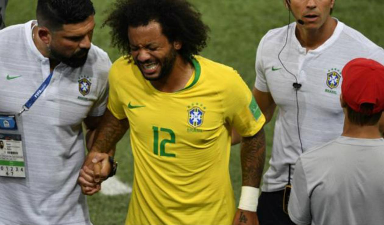 Marcelo lateral zurdo Brasil