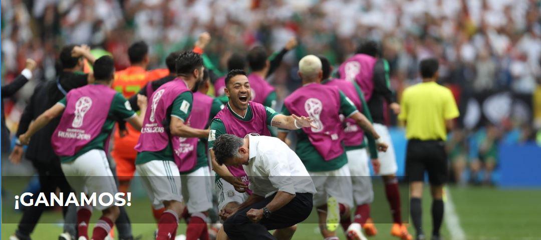 Titular Azteca Deportes tras el triunfo de México ante Alemania