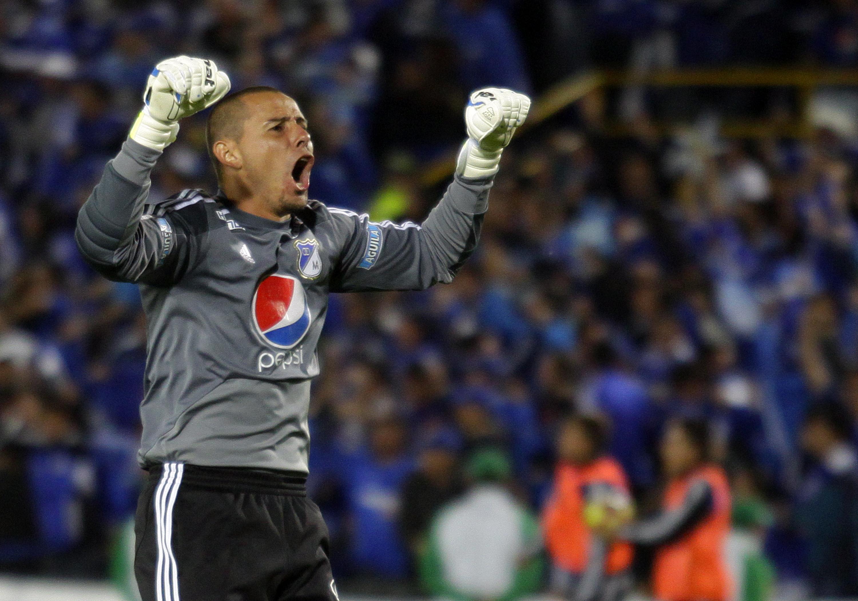 Arquero figura en la final de Millonarios ante Medellín