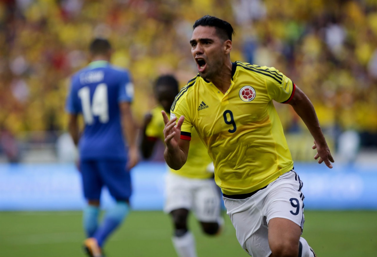 Radamel Falcao García, a jugar el mundial