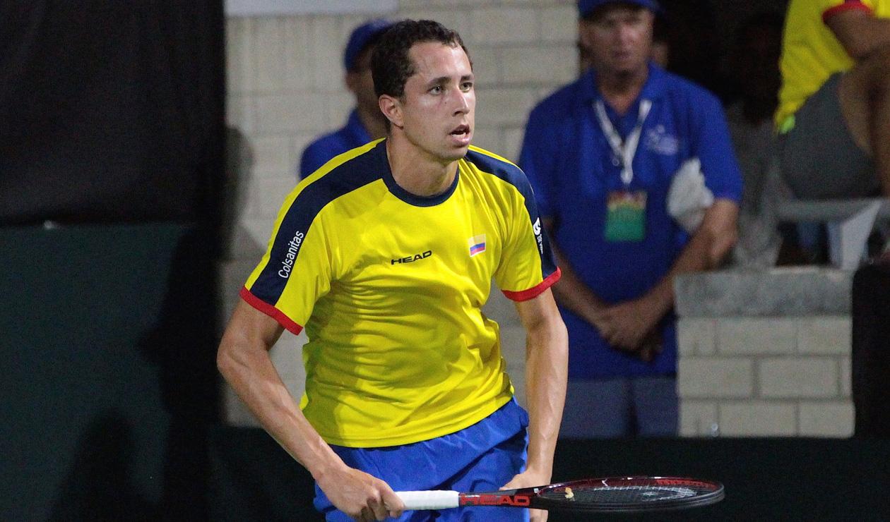 EN VIVO: Daniel Galán vs David Goffin - Copa Davis - Antena 2