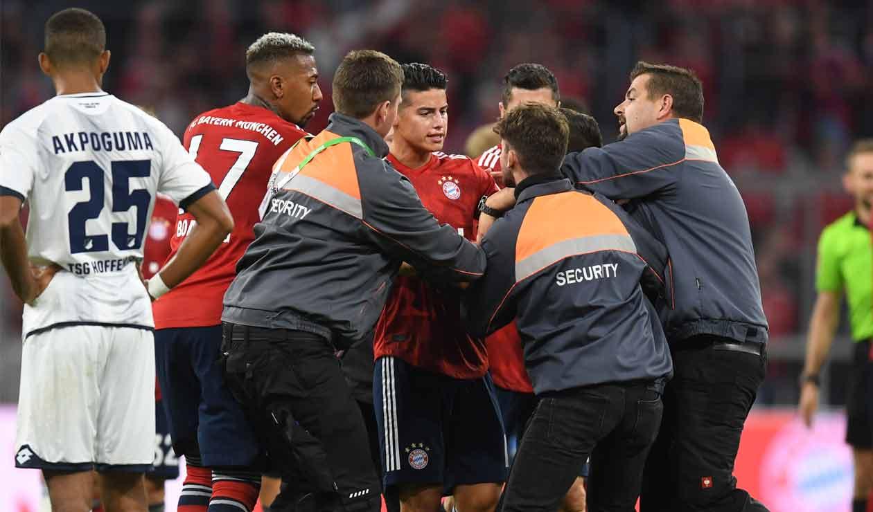 James Rodríguez desató la locura en el debut del Bayern en la Bundesliga