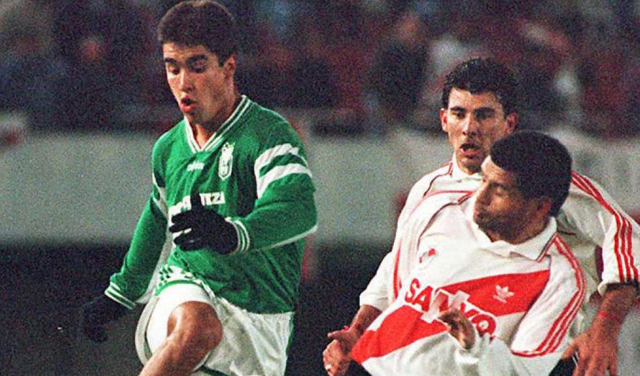 Juan Pablo Ángel con Atlético Nacional