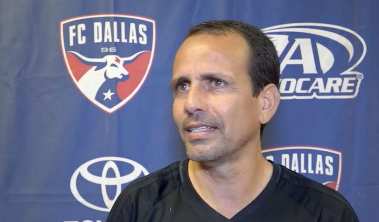 Óscar Pareja, técnico del FC Dallas