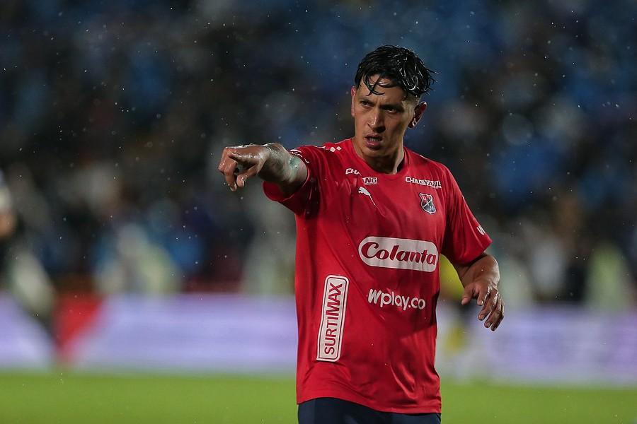 Germán Cano, jugador del Medellín