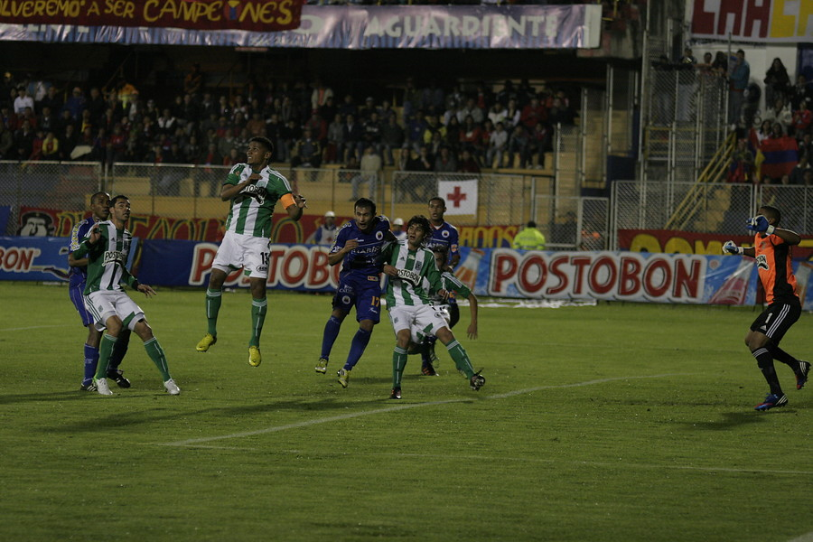 Deportivo Pasto vs Atlético Nacional en la Copa Águila 2012