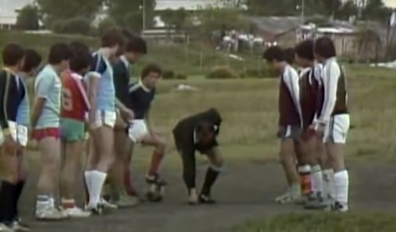 'Don Chinche', fútbol