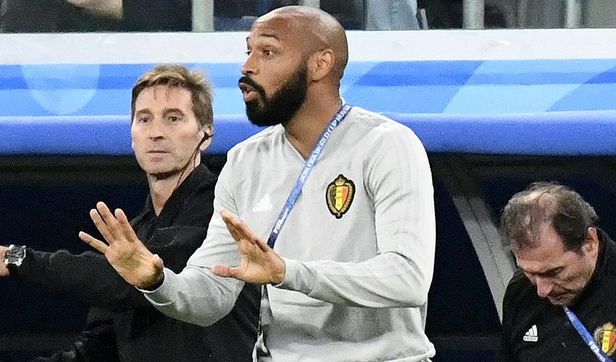 Thierry Henry, exjugador y técnico francés