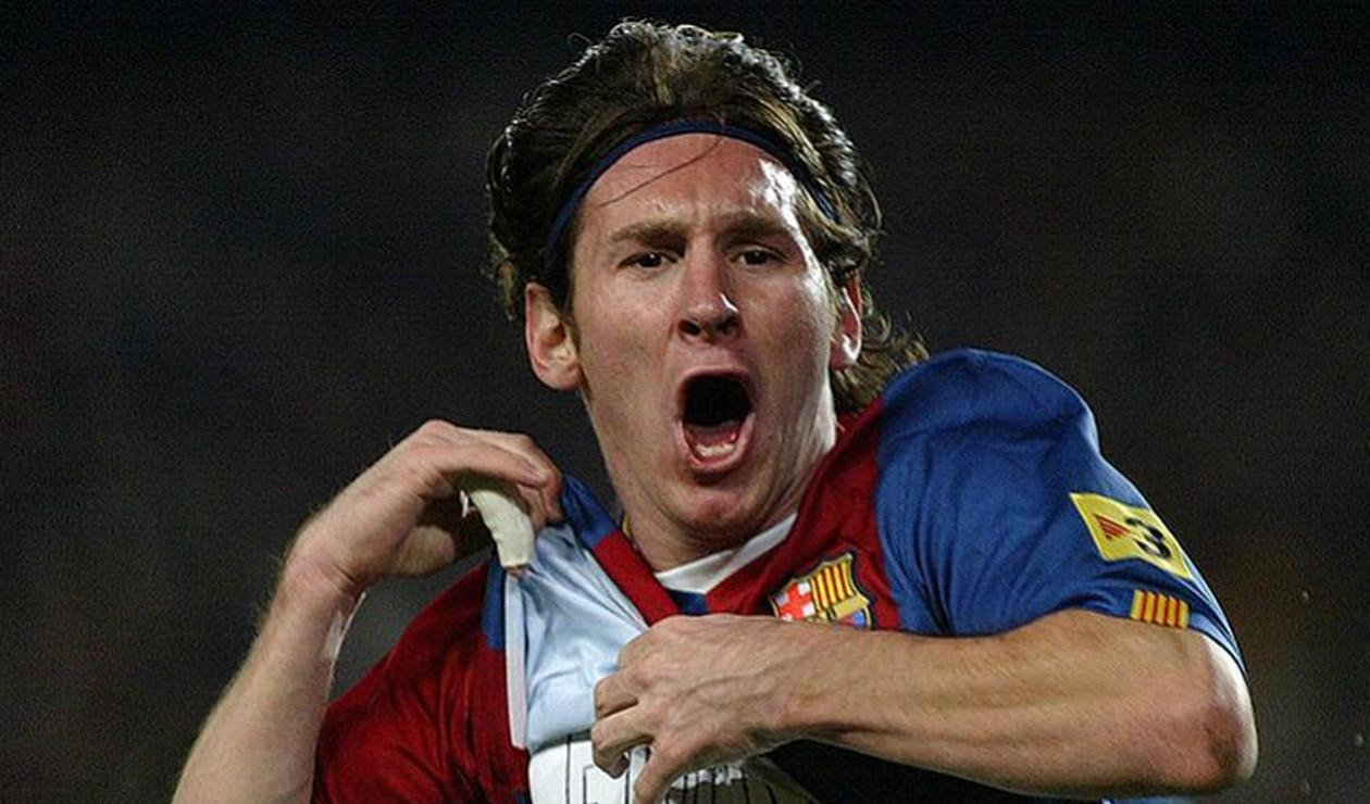 Lionel Messi - 2007 Barcelona vs Real Madrid