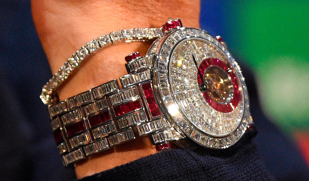 El lujoso reloj de Cristiano Ronaldo al detalle