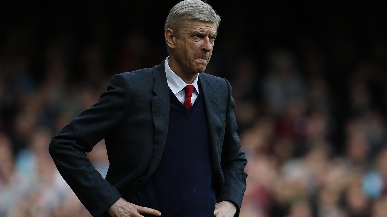 Arsene Wenger, técnico francés
