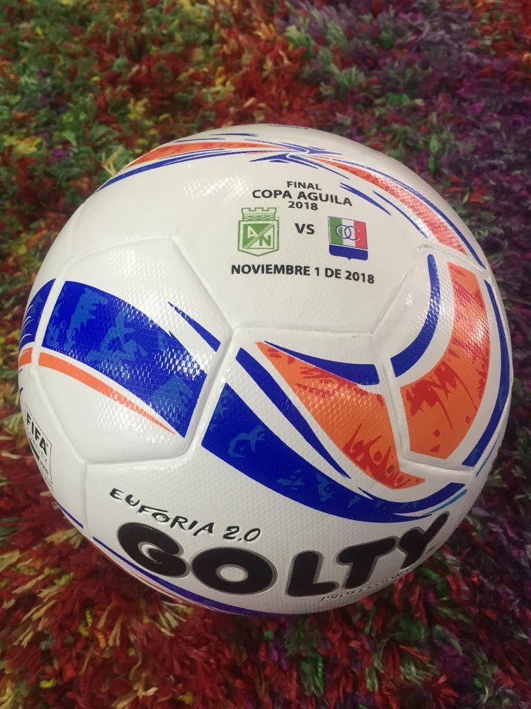 Balón para la final de la Copa