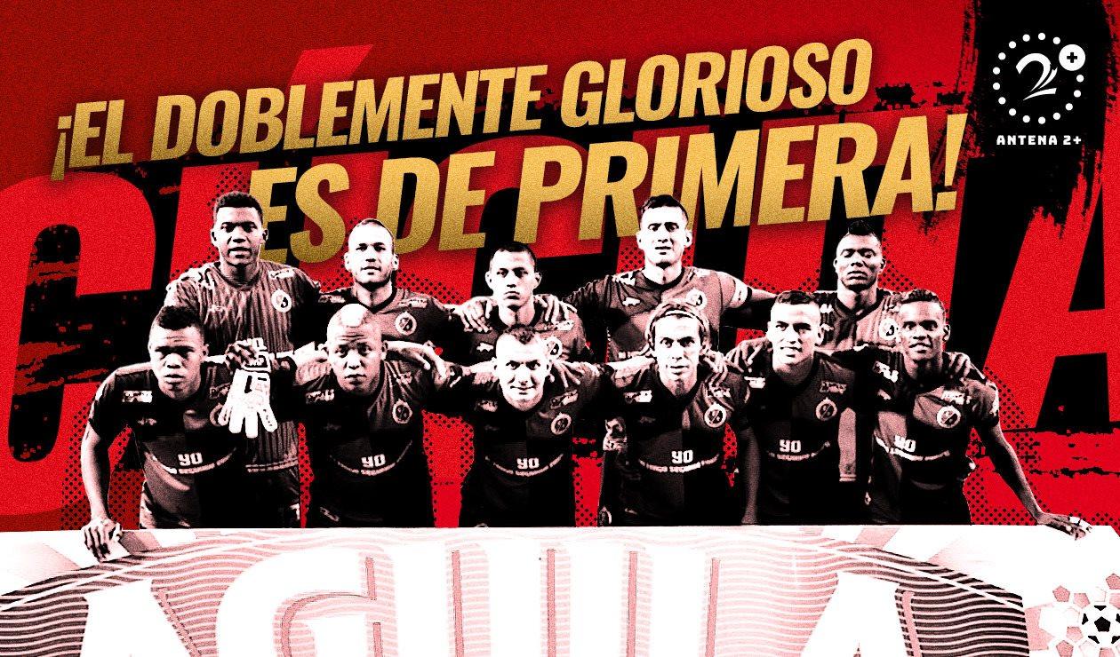 Cúcuta Deportivo ascendió a Primera División