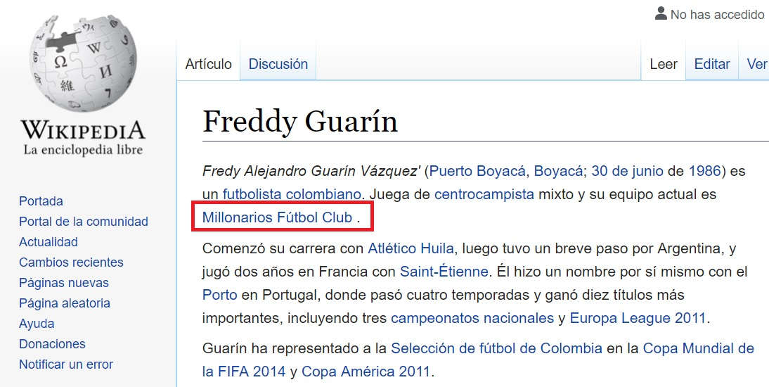 Guarín Wikipedia