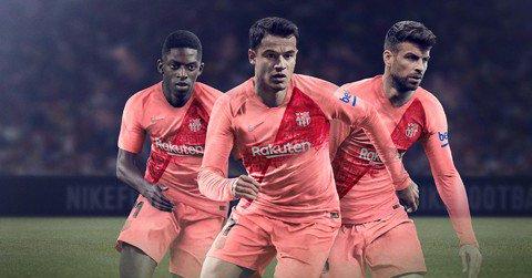 Tercera camiseta de Barcelona