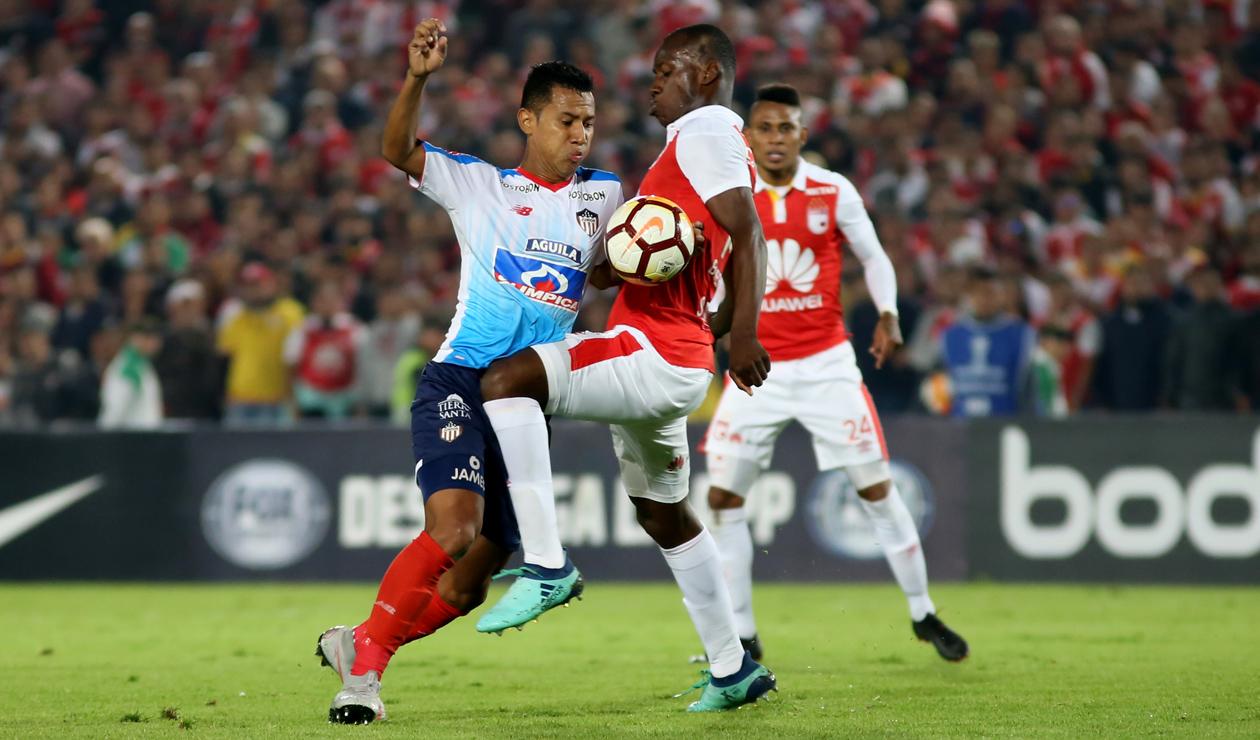 Víctor Cantillo, jugador de Junior de Barranquilla