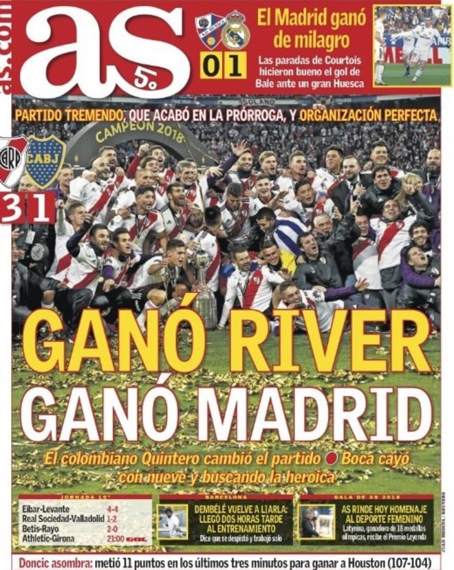 AS España - River campeón