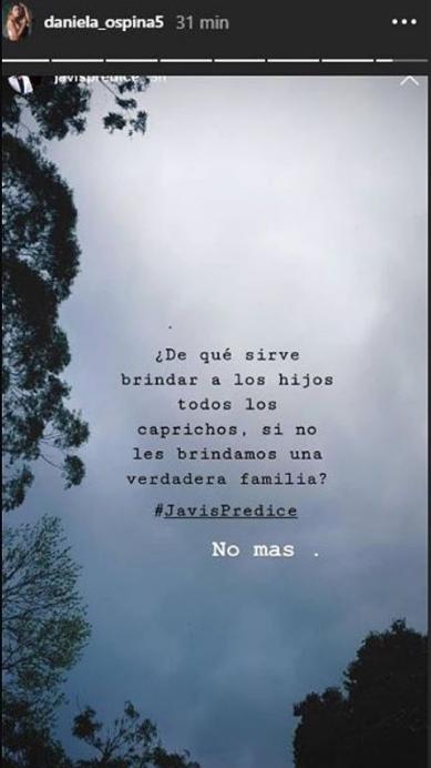 El mensaje de Daniela Ospina, ¿a James Rodríguez?