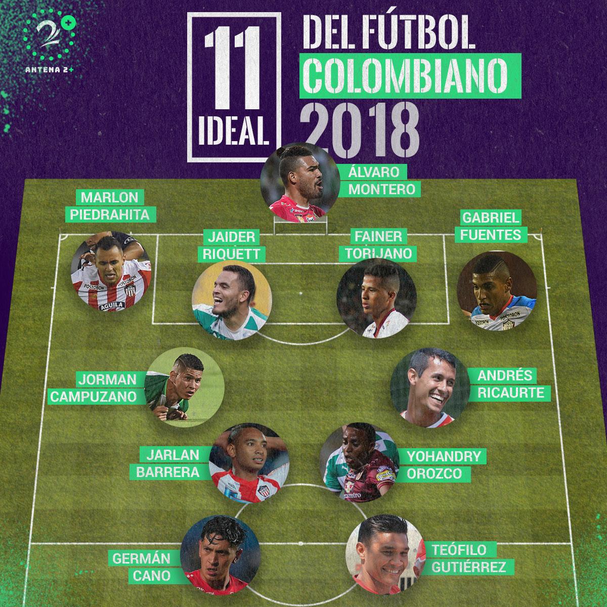 Once ideal Liga Águila