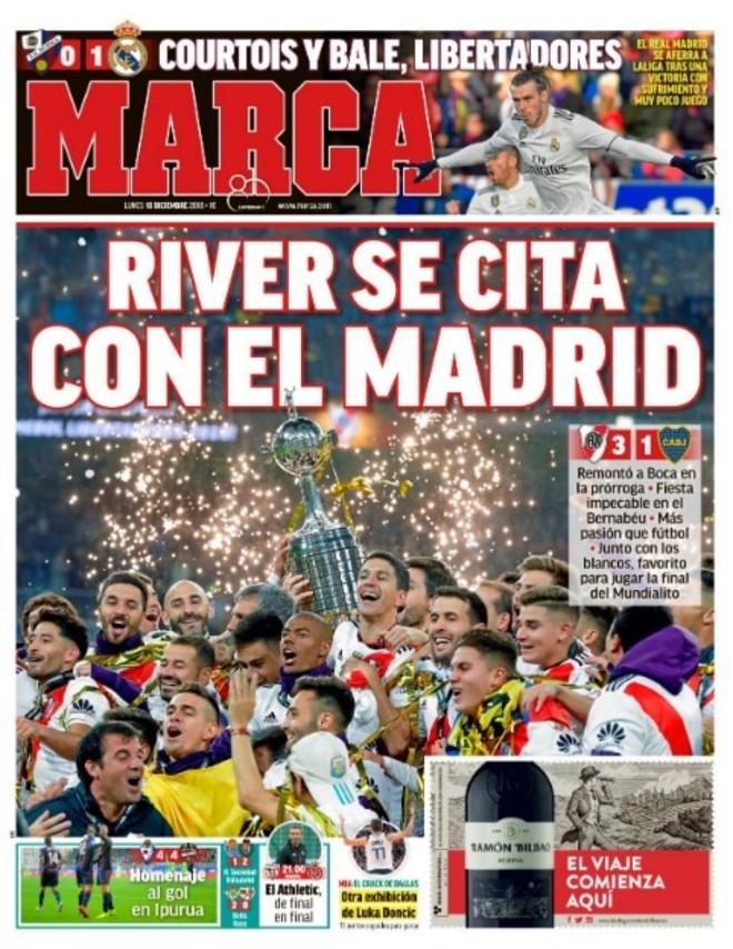 Marca España River campeón