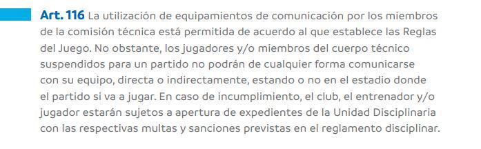 Modificaciones en el reglamento de la Copa Libertadores