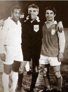 Pelé y Dragoslav Sekularac