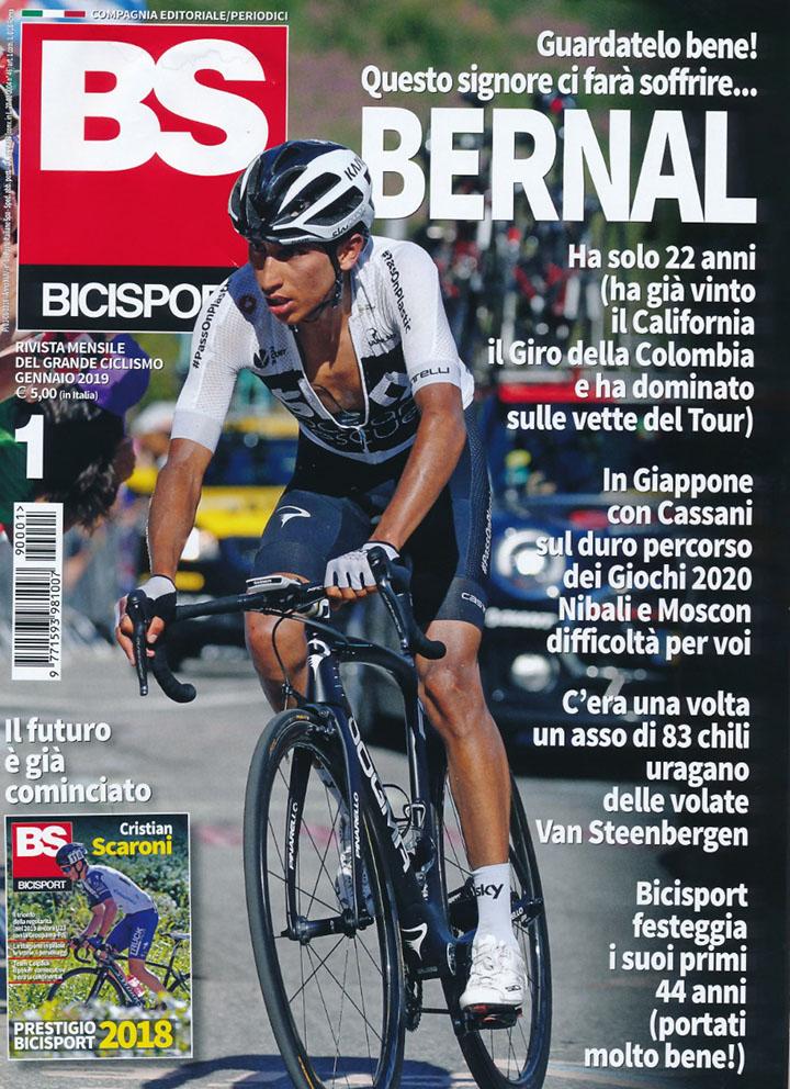 Egan Bernal fue portada de BiciSport