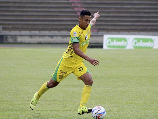 Jeison Medina, delantero colombiano