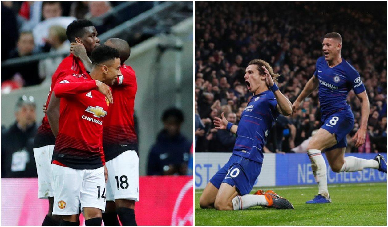 Image Result For Manchester United Vs Chelsea En Vivo