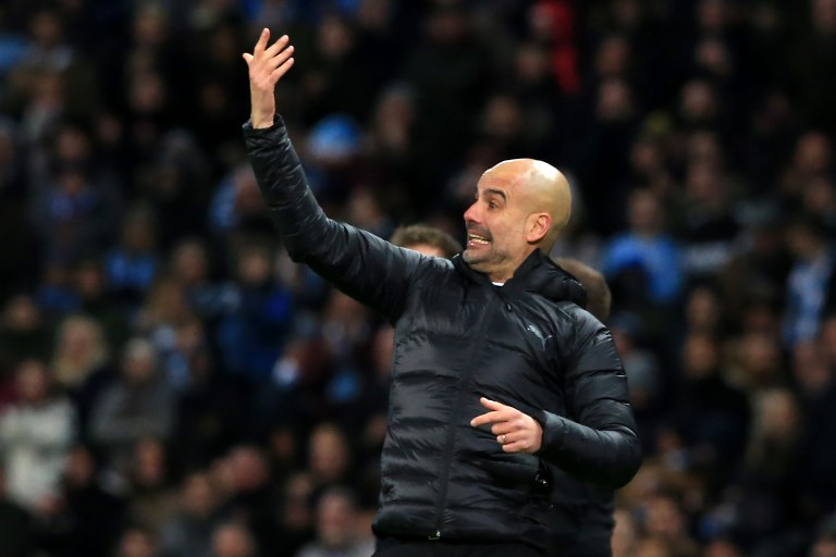 Pep Guardiola, técnico español en la Champions
