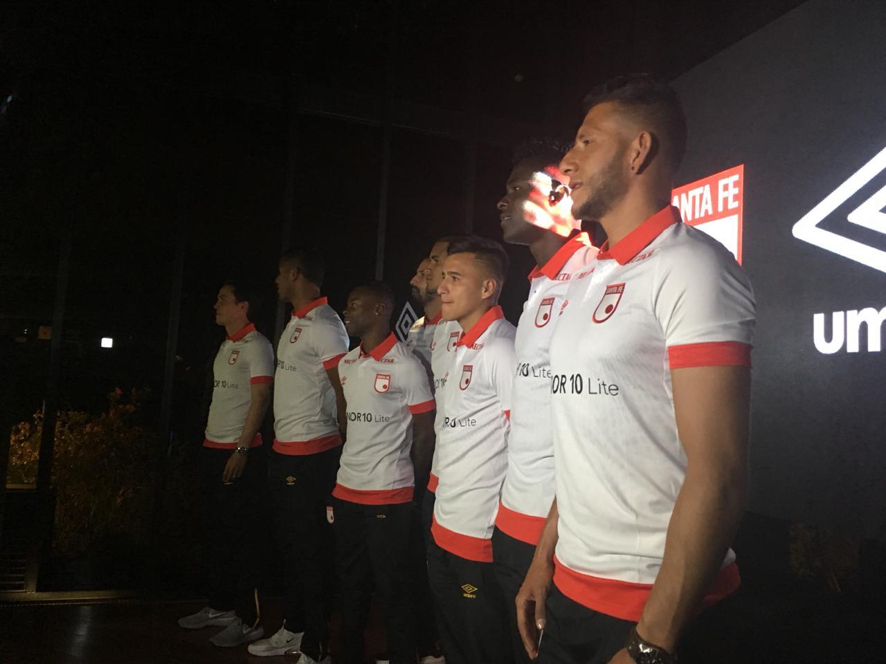 Camiseta Independiente Santa Fe 2019