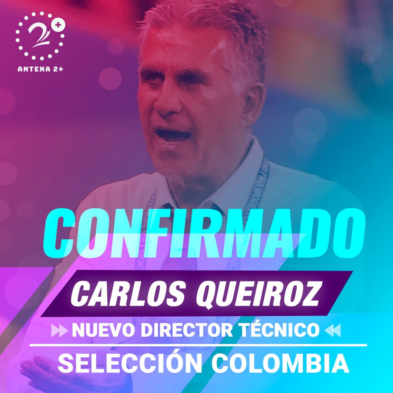 Carlos Queiroz, nuevo técnico de la Selección Colombia