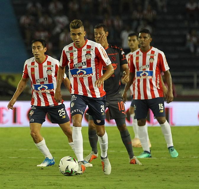 Víctor Cantillo, jugador de Junior