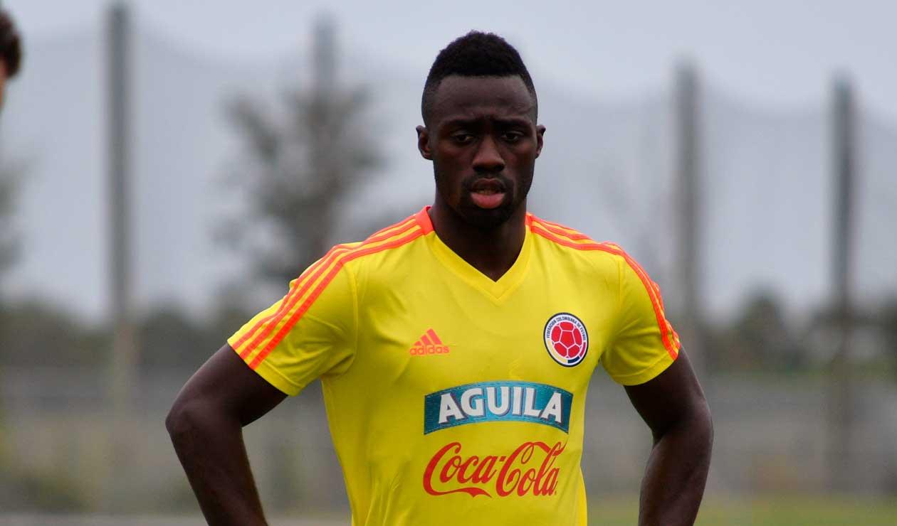 Dávinson Sánchez, jugador de la Selección Colombia sub-20 en 2015
