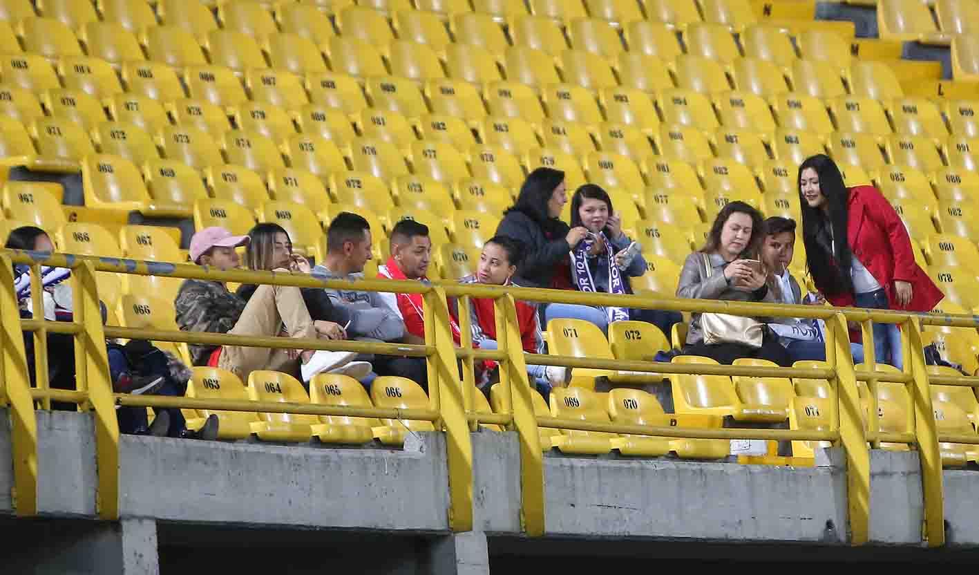 Venezolanos en El Campín