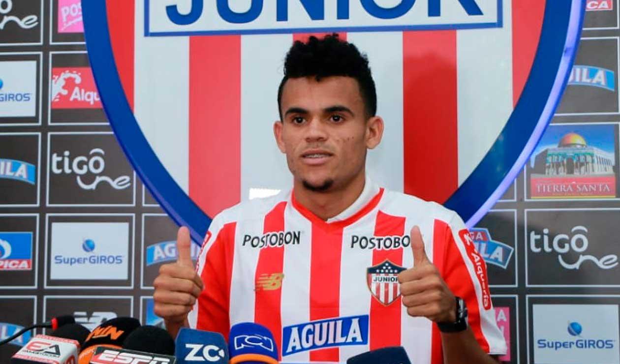 Luis Díaz se ha ido convirtiendo en figura del Junior de Barranquilla