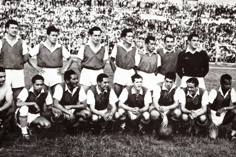 Santa Fe, primer campeón de Colombia