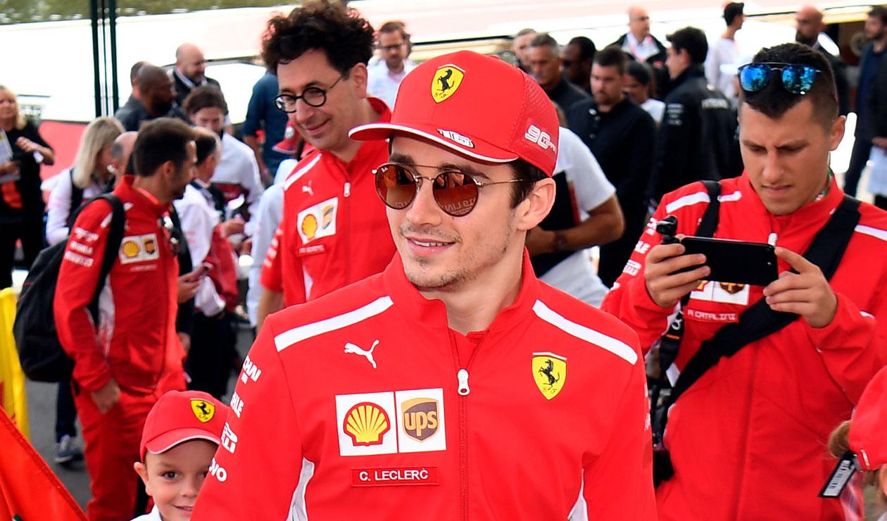 Charles Leclerc podría convertirse en el ganador más joven de la historia en Ferrari
