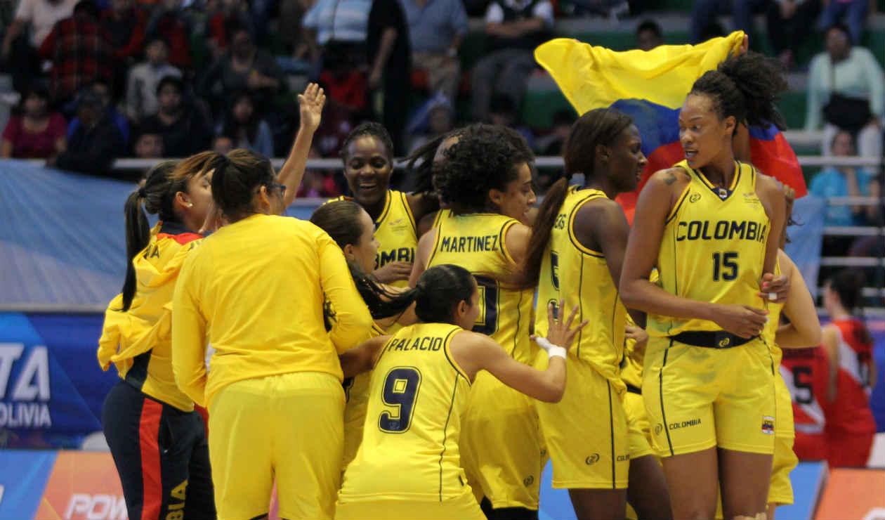 Selección Colombia de baloncesto femenino