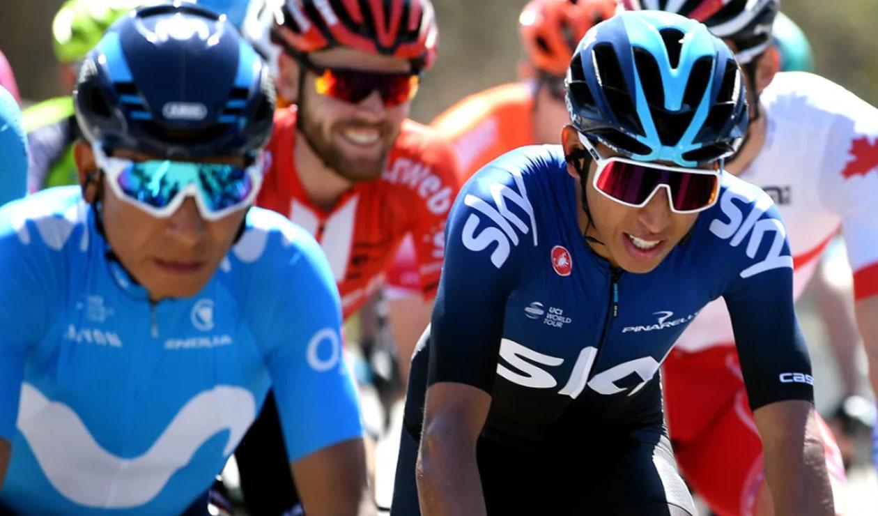 Nairo Quintana y Egan Bernal - Vuelta a Cataluña