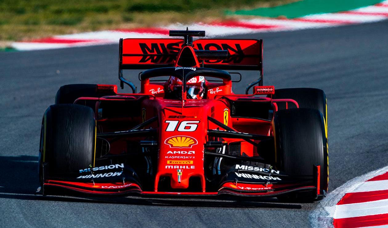 Sebastian Vettel parte como principal rival de Lewis Hamilton para pelear el título 2019 de la Fórmula 1