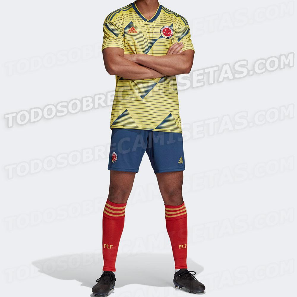 Sería el nuevo uniforme de la Selección Colombia
