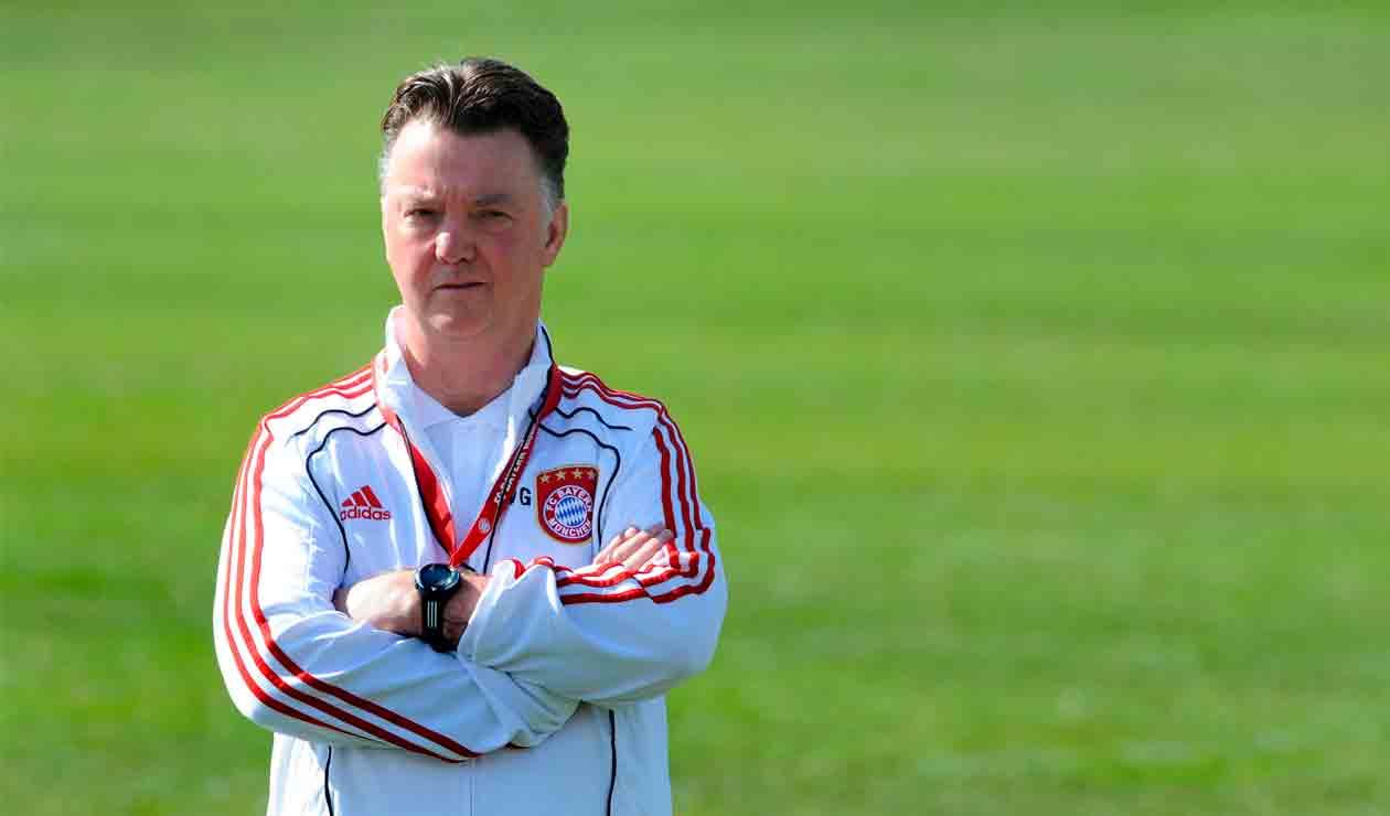 Louis van Gaal en su época como entrenador del Bayern Munich
