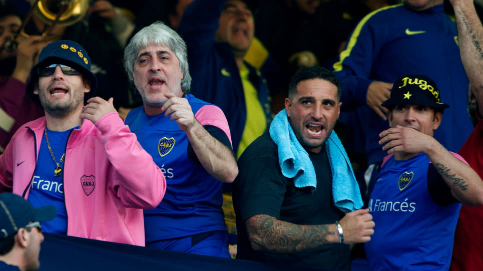 Rafael Di Zeo, jefe de la barra 'La Doce' de Boca Juniors de Argentina