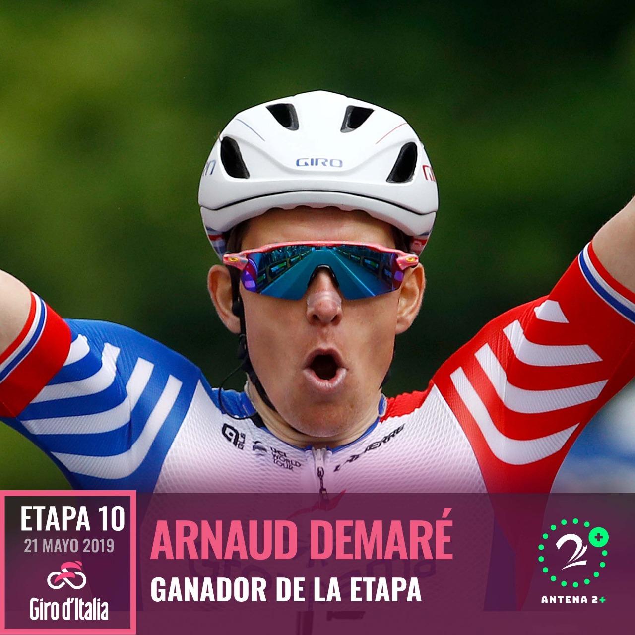 Arnaud Demaré - Giro de Italia