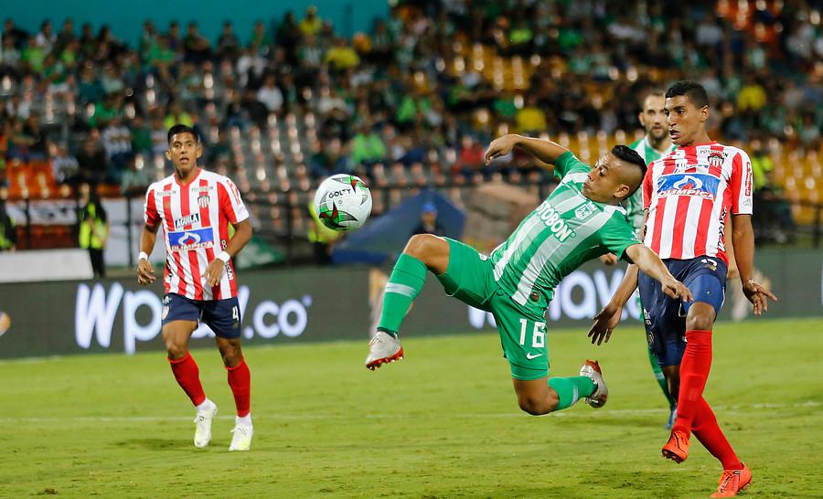 Atlético Nacional vs Junior EN VIVO GRATIS Liga Betplay, fecha 13   Antena 2