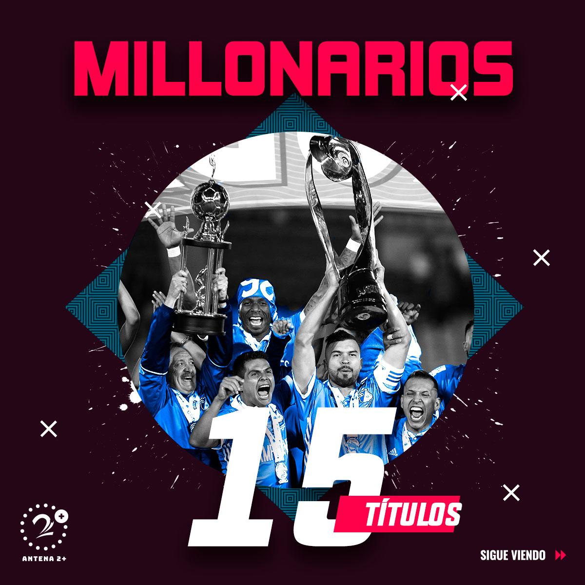 Millonarios - 15