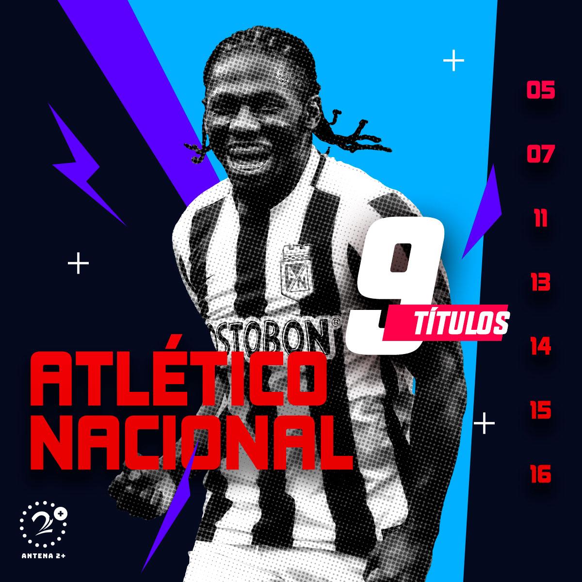 Nacional, campeón en nueve ocasiones a nivel de torneos cortos.