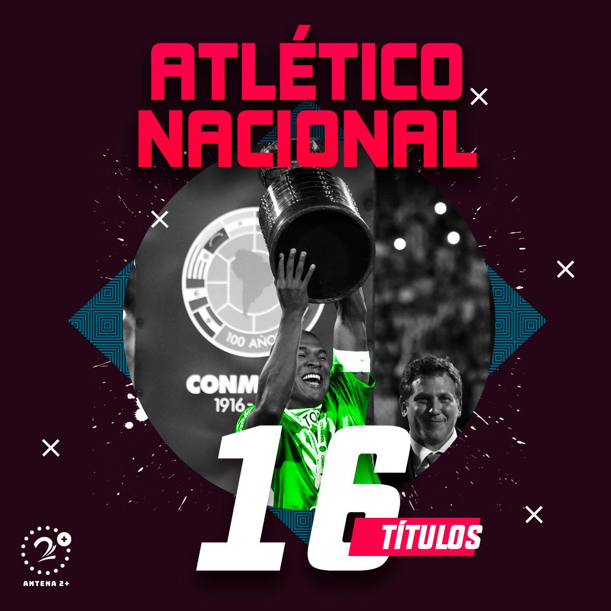 Atlético Nacional - 16