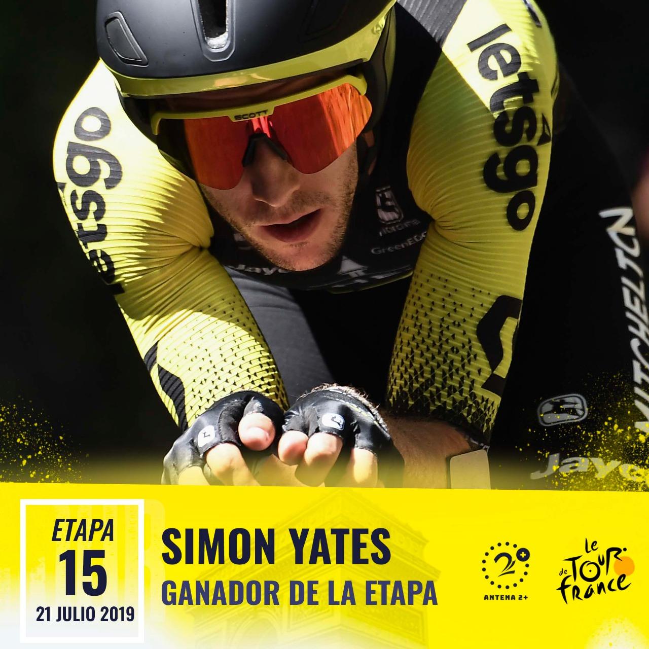 Simon Yates, Tour de Francia 2019